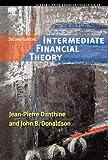 Intermediate Financial Theory (Academic Press Advanced Finance) by Jean-Pierre Danthine (2005-07-25)