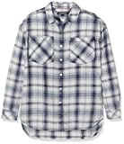 Tommy Hilfiger Mädchen Bluse New Denim Shirt, Weiß (Indigo Heather 428), 8 Jahre (Herstellergröße: 8)