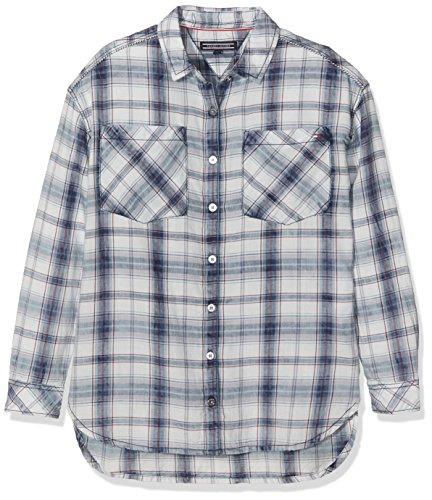 Tommy Hilfiger New Denim Shirt, Blouse Fille Tommy Hilfiger