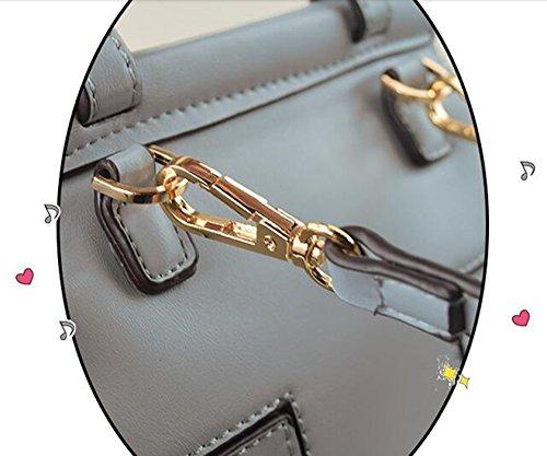 Sacchetto di spalla obliquo della mini-borsa mini-semplice di copertura di vibrazione di estate piccolo sacchetto quadrato ( Colore : Azzurro ) Nero