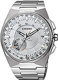 Citizen Satellite Herren Armbanduhr Eco-Drive Weltzeit Datum CC2001-57A