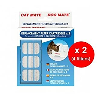 Pet Mate Replacement Filter Cartridges - Pet Fountain x 2 Filters - Twin Pack (4 Filters Total) 7