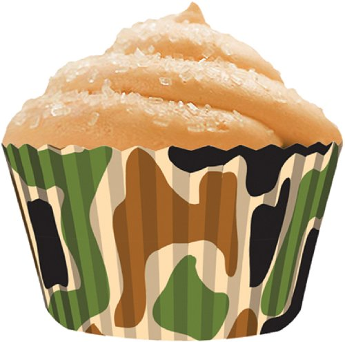 pcake Papier Standard Backen cups-camo 3 (Camo Dekorationen)