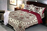 #7: Jaipuri Bedsheets (Cotton Double Bedsheet For Double Bed With 2 Pillow Covers)-By Cloth Fusion