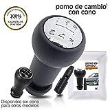 O³ Pomo Cambio De Marchas Con Adaptador | Pomo Palanca 307-406 - 206-408 C2 Y Otros Modelos