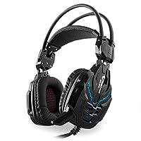 Snopy Rampage Sn-R10 2M Kablo Led Oyuncu Mikrofonlu Kulaklık, Siyah