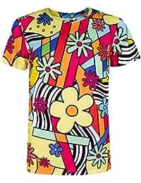 COSAVOROCK T-Shirts Maglietta Costume da Scheletro Uomo