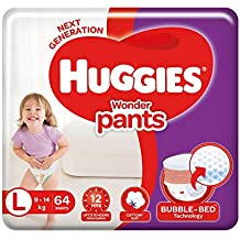 Huggies Wonder Pants Large Size Diapers, 64 Count