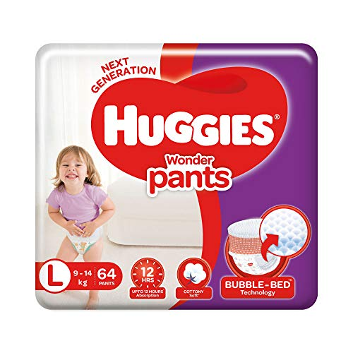Huggies Wonder Pants Diaper – M(76 Pieces) @ Rs-669