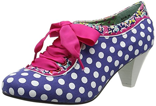 Poetic Licence by Irregular ChoiceWhiplash - Scarpe con Tacco donna , multicolore (Multicolour (Navy/White)), 41
