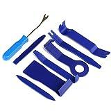 LIHAO 8pcs Kit de Outil de Démontage Installation pour Garniture de Voiture