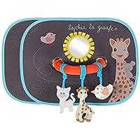 Vulli - Fresh Touch - Sophie la Girafe - Set de 2 Pare-soleil avec Arche Activités