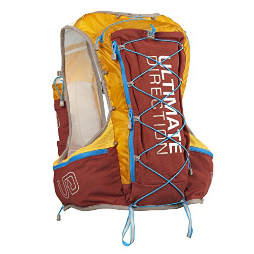 Ultimate Direction Ak Mountain Vest 3.1 Mochila Running, Unisex Adulto, Rojo (Canyon), MD