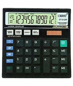 Orpat OT-512GT Check & Correct Calculator (Black)