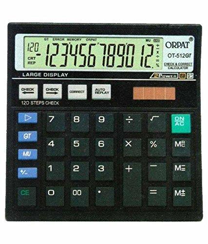 Orpat-OT-512GT-Calculator-Black