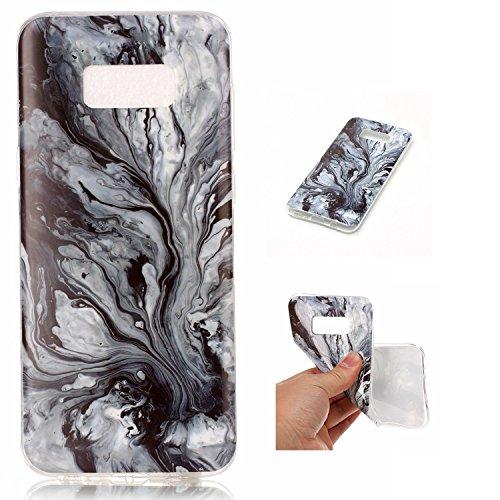 Per Marmo copertura di Samsung Galaxy S8 Inoltre Stone Texture modello anti-graffio antiurto ultra sottile molle della protezione posteriore Case Cover Shell ( Color : N ) L