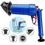 Toilet Plunger Drain Blaster Pumpe Reiniger Plunger Opener Dredge Tools Reiniger für Bad Küche (Toilet Plunger Drain)
