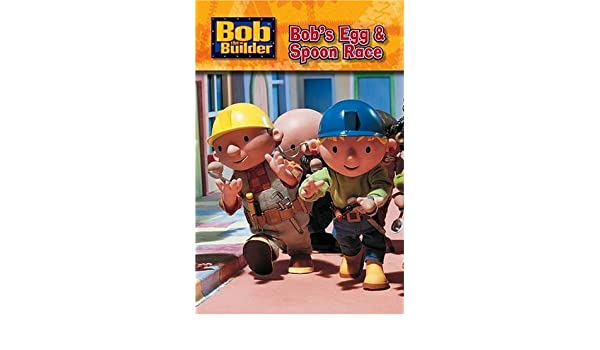 Bob The Builder Bobs Egg And Spoon Race Bob The Builder S