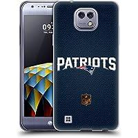 Ufficiale NFL Calcio New England Patriots Logo Cover Morbida In Gel Per LG X cam