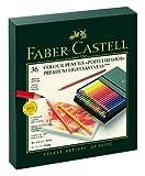 Faber-Castell 110038 - Farbstift POLYCHROMOS, 36er Atelierbox