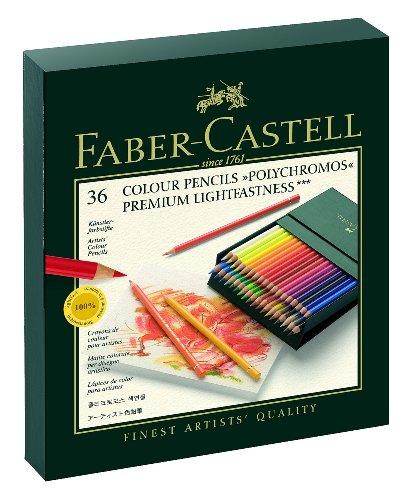 Preisvergleich Produktbild Faber-Castell 110038 - Farbstift POLYCHROMOS, 36er Atelierbox