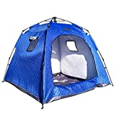 JM- Campingzelt , Backpacking Zelte Hexagon Wasserdichte Kuppel Automatische Pop-Up Outdoor Sport...