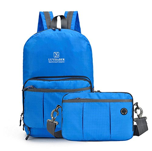 yaagle-unisex-lightweight-waterproof-folding-bag-portable-travel-two-forms-backpack-shoulder-bag