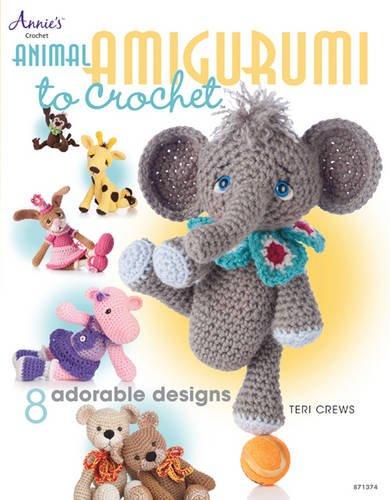 Animal Amigurumi to Crochet: 8 Adorable Designs (Annies Attic) por Teri Crews