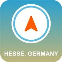 Hessen, Deutschland GPS