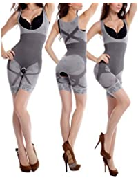 9a0b81ee0776f Creatif Ventures Unique Women Slim Grey Comfort Layer Fashion Curve Beauty Natural  Bamboo Charcoal Body Suit
