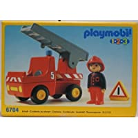 6704: Fire Engine - Playmobil 1.2.3