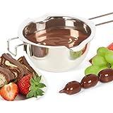 bremermann® Schmelztopf, Schmelzschüssel, Wasserbadschüssel aus Edelstahl