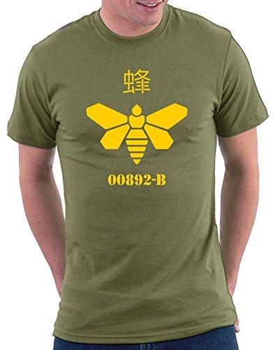 Breaking Bad Meth Bee T-shirt Khaki