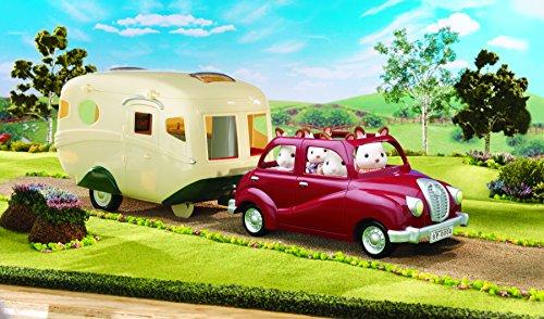 Sylvanian Families 5045 Caravane Poupées Et Accessoires 123jeu