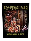 Rückenaufnäher Iron Maiden Somewhere In Time