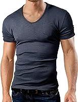 Grin&Bear coupe slim T-Shirt de col V, BH129