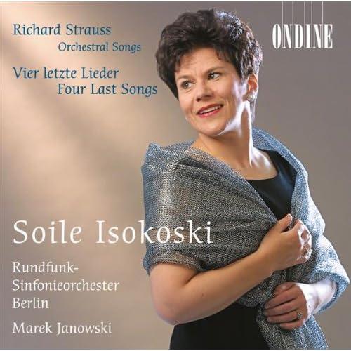 6 Lieder, Op. 56, TrV 220 (version for voice and orchestra) (text by H. Heine): 6 Leider, Op. 56, TrV 220: No. 6. Die heiligen drei Konige aus Morgenland (version for soprano and orchestra)