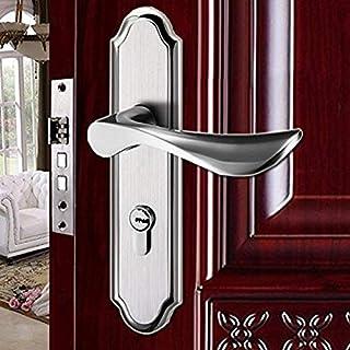 worldart @ Door Handle Internal Door Handles with Lock and Lock and Lock Sets Internal Chrome