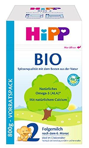 Hipp Orgánica 2 leche de continuación -