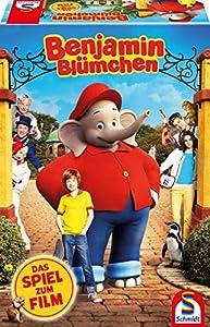 Schmidt Spiele 40589 Benjamin Blümchen, Das Spiel Zum Film, Bunt - Juego de Mesa (Contenido en alemán)