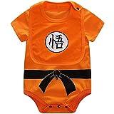 Dragon Ball Wukong Baby Clothing Newborn Infant Boy Clothing Harbin Jumpsuit Set 6Months