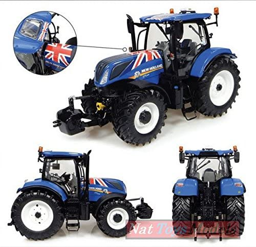 Universal Hobbies UH4901 New Holland Holland Holland T7.225 Union Jack Edition 1:32 Die CAST 654f19