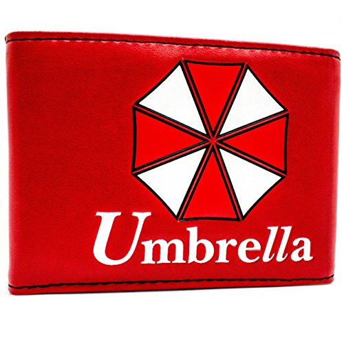 Price comparison product image Umbrella Resident Evil Game Red Coin & Card Bi-Fold Wallet