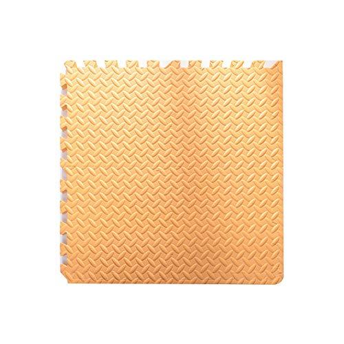 Orange 8x10 Bereich (YANGJUN Puzzlematte Baby Schaumstoffmatte Krabbelmatte rutschfest Verschleißfest Wasserdicht Schutz Fußboden Isolierung Erholungsgebiet 2,5 cm Dick (Color : Orange, Size : 30x30x2.5cm-10PCS))