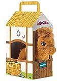 Bibi & Tina 636972 Pferd Amadeus Stehend im Stall Plüschtier, Weiß