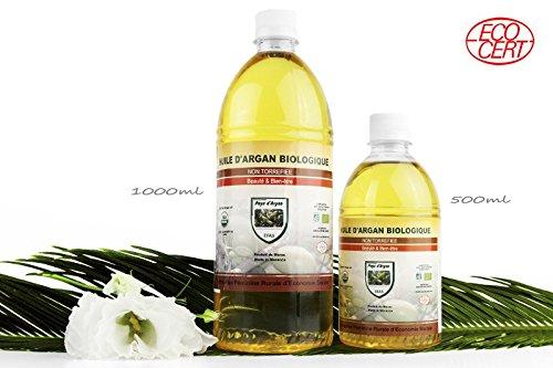 Aceite de Argan 1 litro puro 100%...