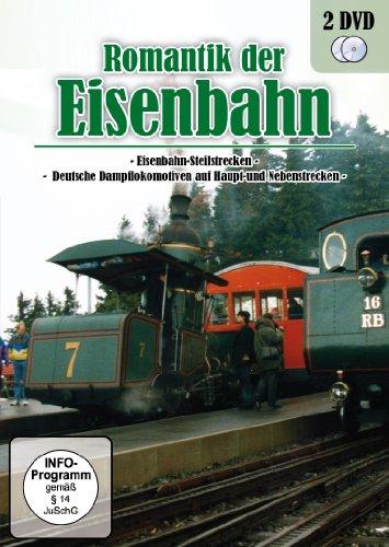 Romantik der Eisenbahn - Deutsche Dampflokomotiven & Eisenbahn-Steilstrecken [2 DVDs]