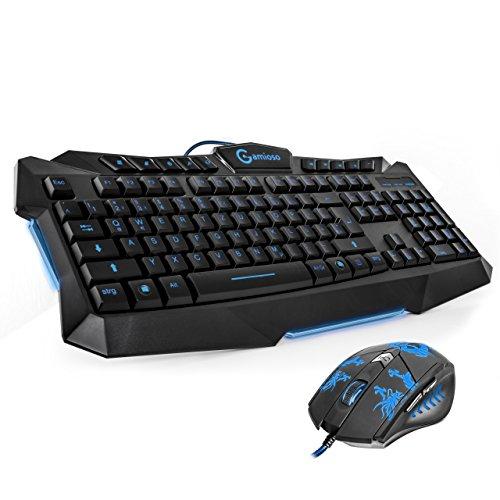 Gaming Tastatur und Maus Set (nicht mechanisch)