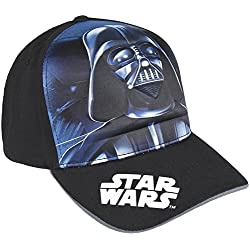 Cerdá Premium Star Wars Darth Vader Gorra de Tenis Color negro 52-58 cm 2200002906