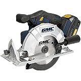 GMC - Scie circulaire sans fil D. 165 mm 18 V 4 Ah GMC18CS - 636575